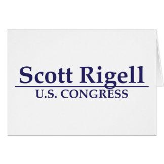 Congreso de Scott Rigell los E.E.U.U. Tarjeta De Felicitación