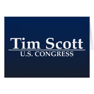Congreso de Tim Scott los E.E.U.U. Tarjeta De Felicitación