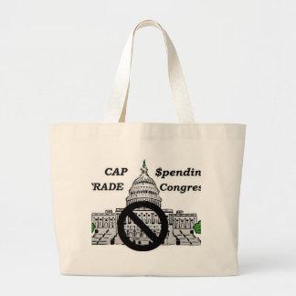 Congreso del gasto y del comercio del casquillo bolsa de mano