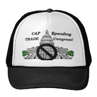 Congreso del gasto y del comercio del casquillo gorros