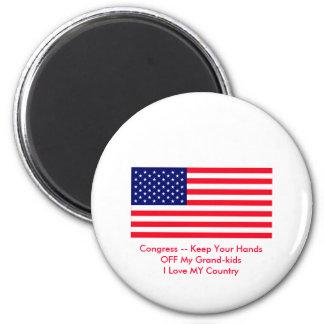 Congreso -- Guarde sus manos de mis Magnífico-niño Imán Para Frigorifico