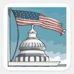 Congreso Pegatinas Cuadradas Personalizadas