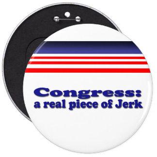Congreso Pin Redondo De 6 Pulgadas