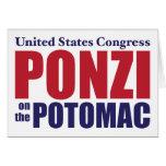Congreso: Ponzi en el Potomac Felicitaciones