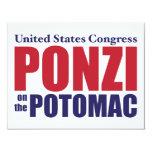 Congreso: Ponzi en el Potomac Invitaciones Personales
