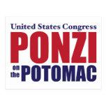 Congreso: Ponzi en el Potomac Tarjetas Postales