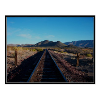 Congress Arizona Railroad Post Card