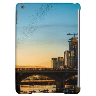 Congress Avenue Bridge Bat Watching Cover For iPad Air