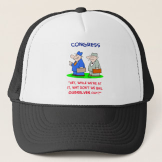 congress bail ourselves out trucker hat