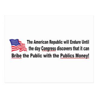 Congress-Bribe Postcard