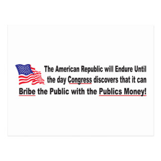 Congress-Bribe Postcard