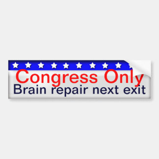 Congress Bumper Stickers