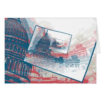 Congress Capitol Building Card