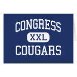 Congress Cougars Middle Kansas City Missouri Cards
