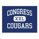 Congress Cougars Middle Kansas City Missouri Post Cards