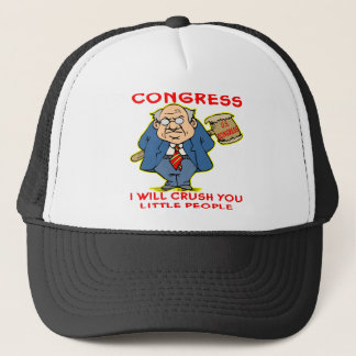 Congress Crushing We The People Trucker Hat