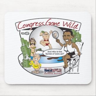 congress gone wild mouse pad