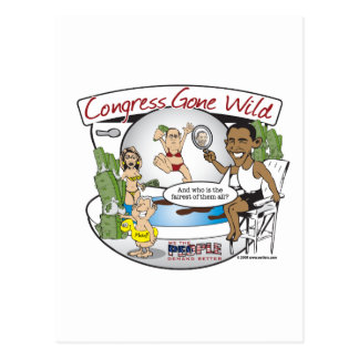 congress gone wild postcard