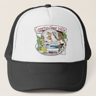 congress gone wild trucker hat