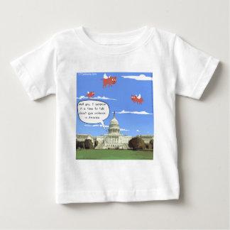 Congress & Gun Violence Talk When Pigs Fly Baby T-Shirt