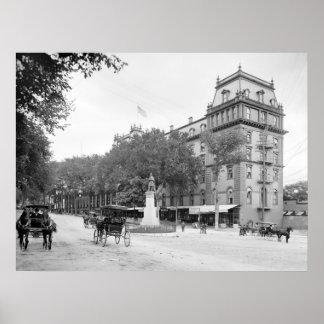 Congress Hall, Saratoga Springs: 1900 Poster