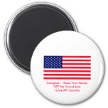 Congress -- Keep Your Hands OFF My Grand-kids Magnets