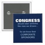 Congress Needs Uniforms Pin