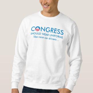 Congress Needs Uniforms Sweatshirt