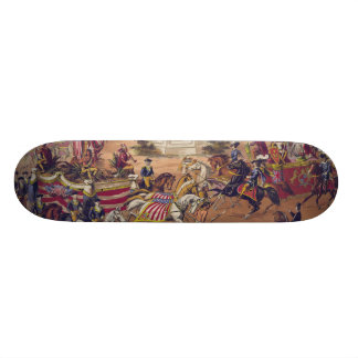 Congress of Nations (1875) Skate Board