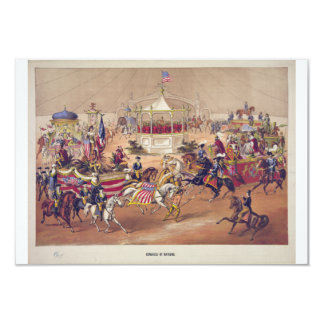 Congress of Nations circa 1875 by Gibson & Co. 3.5x5 Paper Invitation Card