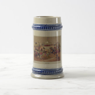Congress of Nations circa 1875 by Gibson & Co. 18 Oz Beer Stein
