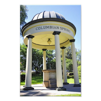 Congress Park Mineral Water Photo Print