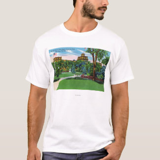 Congress Park View of the Grand Union Hotel T-Shirt