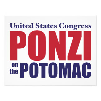 Congress: Ponzi on the Potomac Personalized Invite