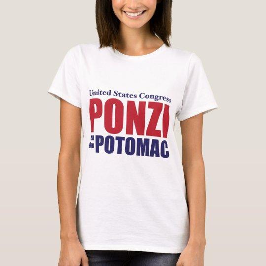 Congress: Ponzi on the Potomac T-Shirt