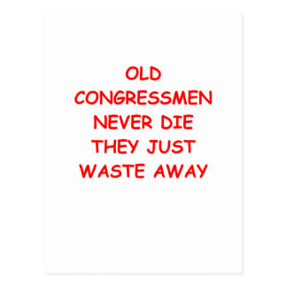congress postcard