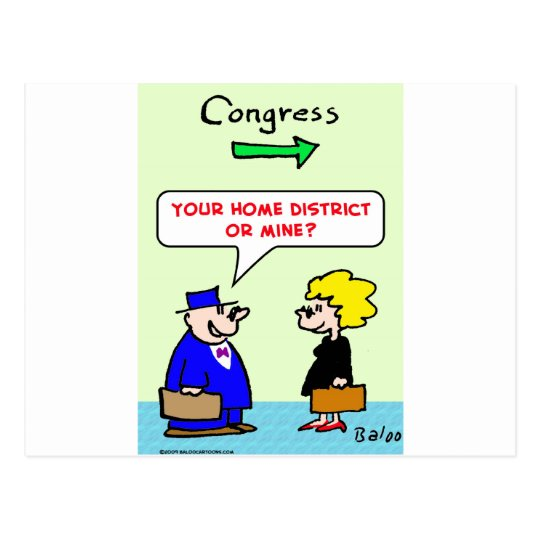congress your home district sex postcard