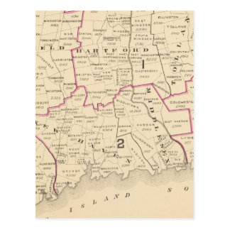 Congressional districts post cards