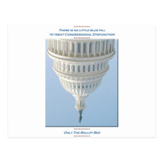 Congressional Dysfunction Postcards