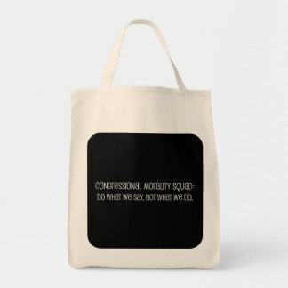Congressional Office of Morality Briefing Tote Bag