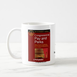 Congressional Pay and Perks mug mug