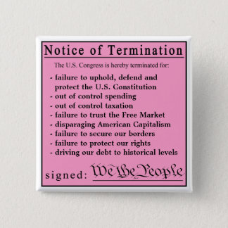 Congressional Pink Slip button