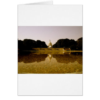 Congressional reflections greeting card