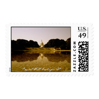 Congressional reflections postage stamp