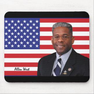 Congressman Allen West Mouse Pads