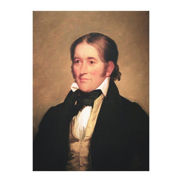 Congressman Davy Crockett By Chester Harding Canvas Print Zazzle Com If you require a cheaper canvas. zazzle