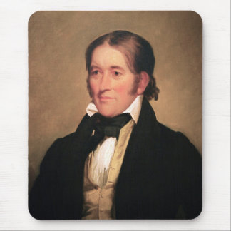 Congressman Davy Crockett by Chester Harding Mousepads