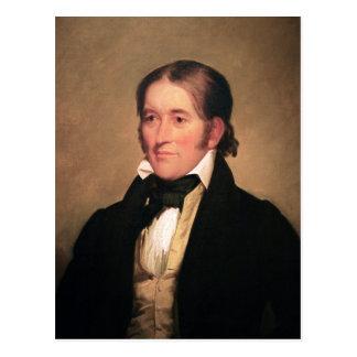 Congressman Davy Crockett by Chester Harding Postcard