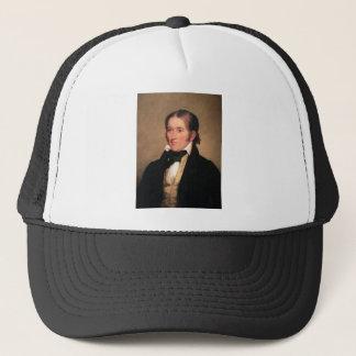 Congressman Davy Crockett by Chester Harding Trucker Hat