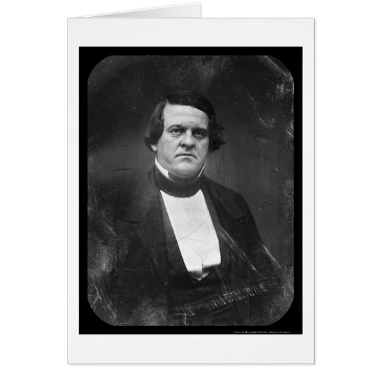 Congressman H. Cobb Daguerreotype 1847 Card